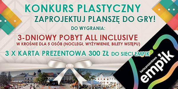 """Własna gra planszowa? Nam to gra! """"Śladami Legend Pogórza"""" - ogólnopolski konkurs na grę planszową! - zdjęcie w treści  nr 1"""